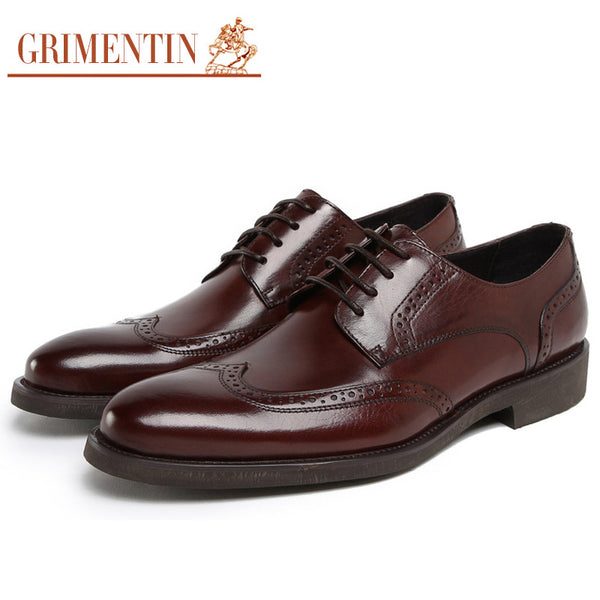 2015 UK vintage fashion oxford Men's casual shoes genuine leather black brown flats for men wedding business z47