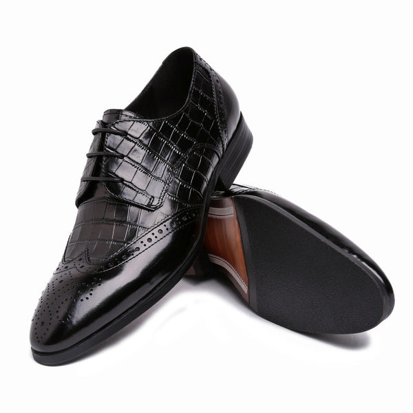 2015 British male shoes, pattern dress shoes European high-end wedding shoes z42