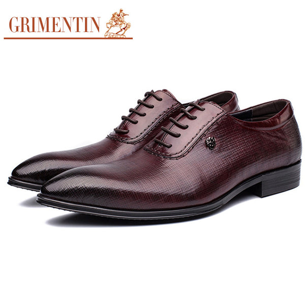2016 British style business mens pointed toe dress shoes black brown high grade italian leather male casual shoes men flats