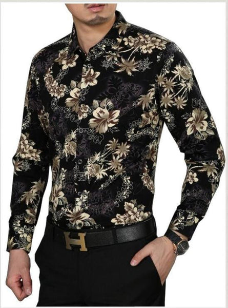 2016 Spring Brand clothing Men Brand Long-Sleeve Shirts Male Casual Men's Cothing Shirt Slim Fit Fashion Design Stylish