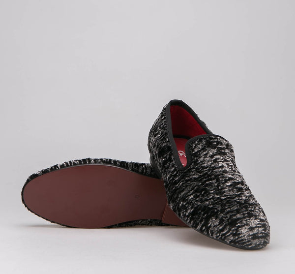 2015 Piergitar New Style Velvet Men Shoes with Special wool Loafers Smoking Slipper size 6-13 Free Shipping