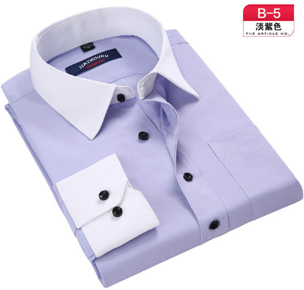 Brand-Clothing Men Shirts Long Sleeve Camisa Masculina Casual Mens Dress Shirts Work Wear Shirt Men Camisas Mens Shirts New 2016