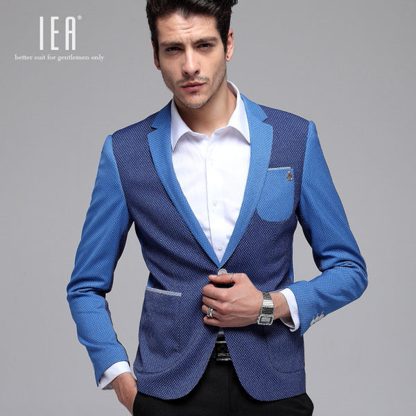 High Quality Men's Blazer Slim Fit  Casual  Quality Suits For Man Original Design Casual Blazer One Button Suit Jacket FS-026