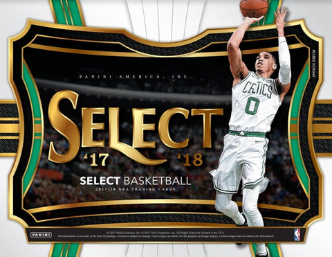 17SBKB9- 2017 Select Basektball 6 Box Half Case- 1 Random Team per Spot