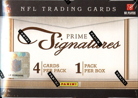 2011 Prime Signatures Football Personal Box Break