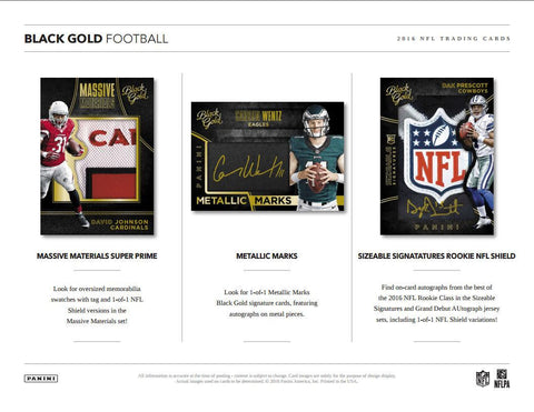 2016 Black Gold Football Personal Box Break