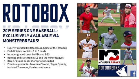 ROTO6- 2019 ROTO BOX 10 BOX CASE BREAK- RANDOM TEAMS