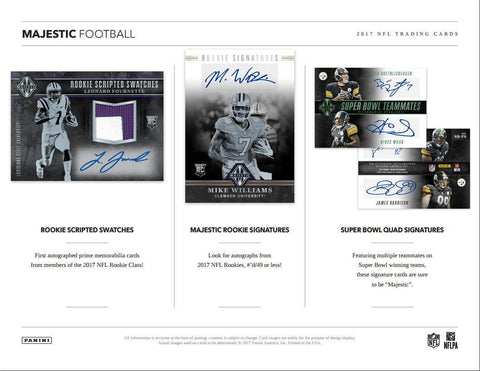 2017 Majestic Football Personal Box Break