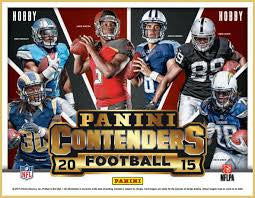 2015 Contenders Football Personal Box Break