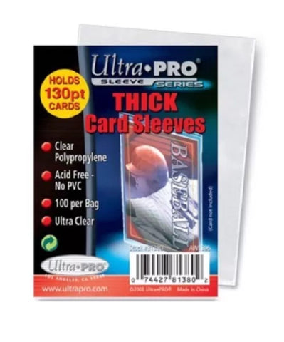 ULTRA PRO THICK 130pt Soft CARD SLEEVES