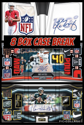 19PB8B56 - 2019 PLAYBOOK FOOTBALL 8 BOX CASE BREAK - RANDOM TEAMS 6