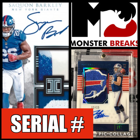 18INT4B- 2018 IMPECCABLE FOOTBALL 3 BOX CASE + NT FOTL
