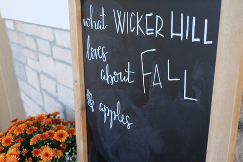 What Wicker Hill LOVES About Fall.....Apples!