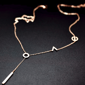 Augustina Love Necklace - Pearl + Creek