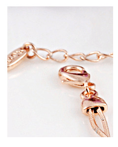 Berenice Platinum or Rose Gold Austrian Crystal Ball Charm Bracelet - Pearl + Creek