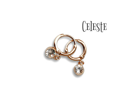 Celeste Earrings - Pearl + Creek