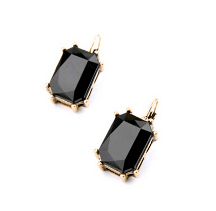 ILA ANTIQUE BLACK GEMSTONE Earrings - Pearl + Creek