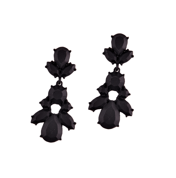 Verrah Black Earrings - Pearl + Creek