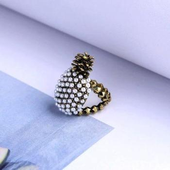 Annana Pearl Ring - Pearl + Creek