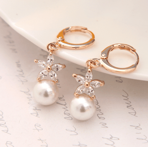 Balinda Earrings - Pearl + Creek