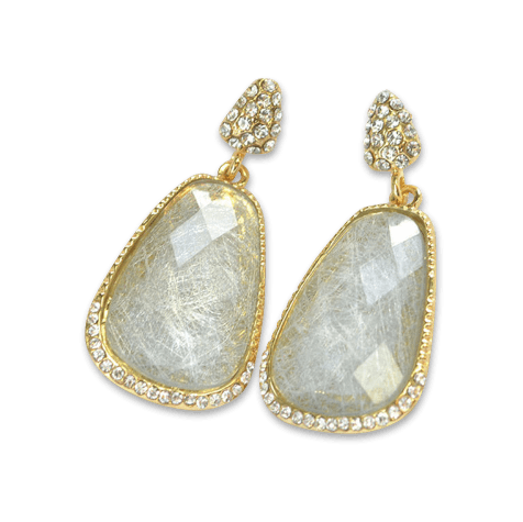 Francesca Drop Earrings - Pearl + Creek