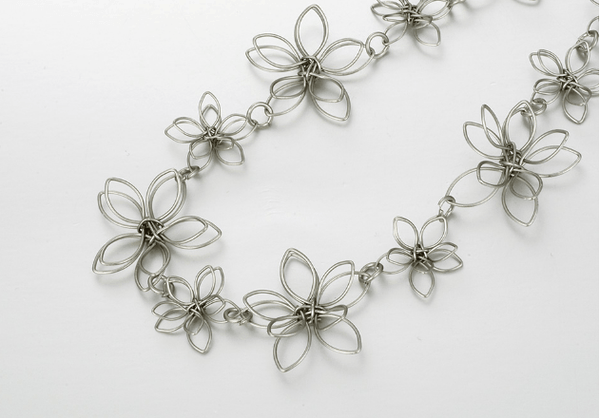Felicia Flower Necklace - Pearl + Creek