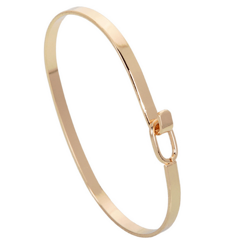Xiomara Hooked on You Bangle Bracelet - Pearl + Creek