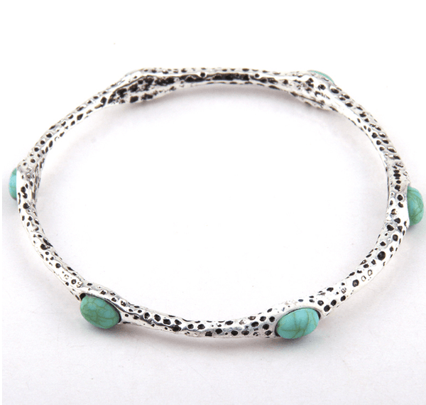 Joanna Bracelet with Turquoise - Pearl + Creek