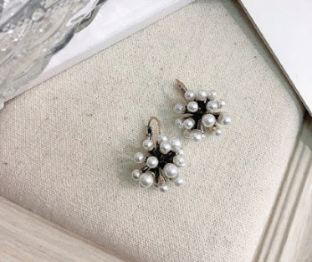 Nina Pearl Earrings - Pearl + Creek