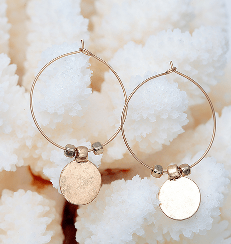 Theodora Earrings - Pearl + Creek
