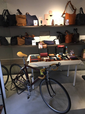 moca leather items bicycle