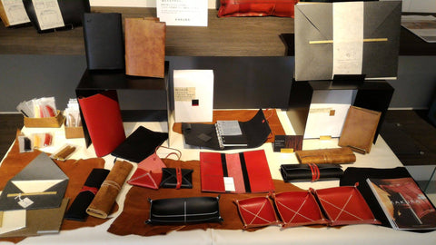 Kakura leather Items made in Japan