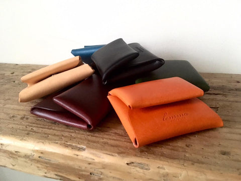 lemma leather wallet