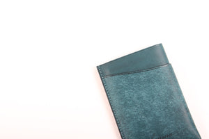 "[lemma]<br>Leather Pass Holder ""Olas"""