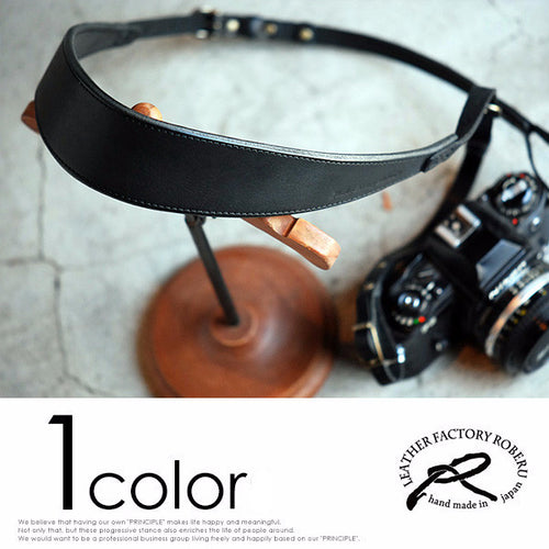 [ROBERU]  <br>Handcrafted Leather <br> Camera Strap