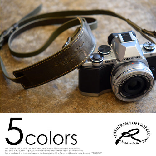 [ROBERU] <br> Leather Strap <br>For Single-lens reflex