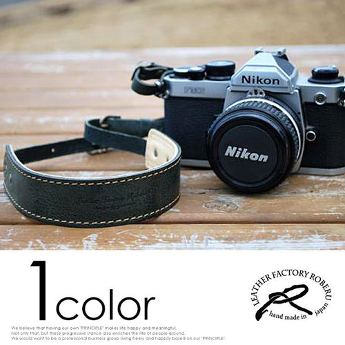 [ROBERU] <br> Handcrafted Leather <br> Camera Strap