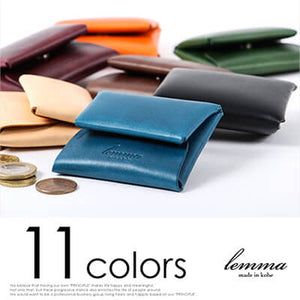 [LEMMA]<br>Buttero Leather Coin case