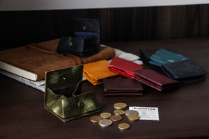 [Boosters]<br>Italian Leather Coin Case