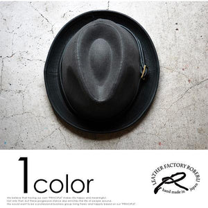 [ROBERU]<br> Natural Dyed<br> Canvas&Leather Hat