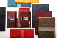 Load image into Gallery viewer, [Boosters]<br>Italian Leather Passport Holder