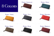 Load image into Gallery viewer, [Boosters]<br>Basic Italian Leather Long Zip Wallet