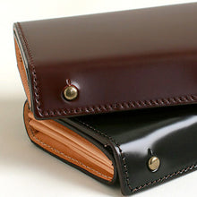 Load image into Gallery viewer, [m+] <br>Millefoglie CORDOVAN  Wallet