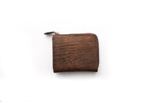 Load image into Gallery viewer, [Boosters]<br>Italian Leather Short L-Zip Wallet