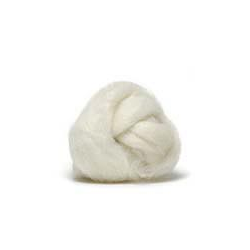 Coopworth Roving - White  1/2 lb.