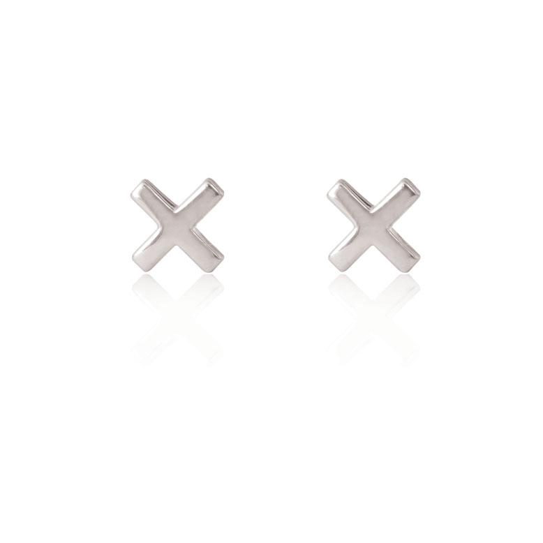 CROSS Stud - Sterling Silver