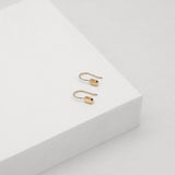 Tate Hook Earrings - Rose Gold