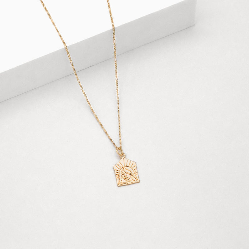 Empress Necklace - Rose Gold Plated
