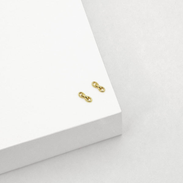LT - Chain Stud - Gold Plated