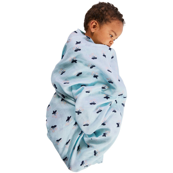 KIP & CO Baby Swaddle Buttercup